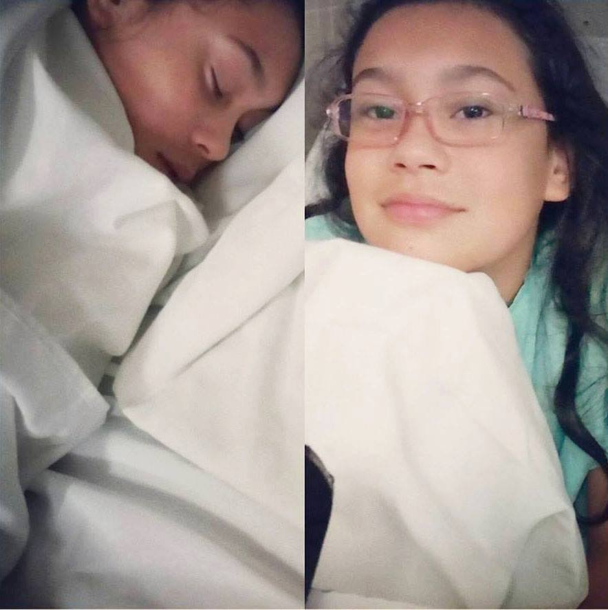 Valeria, niña afectada por Gardasil